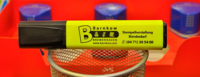 Willkommen Barnkow Stempelherstellung Und Bürobedarf In